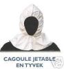 CAGOULE DE PROTECTION JETABLE