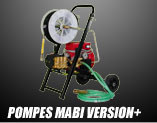Pompe MABI Version+ pour injection murs bois de charpente